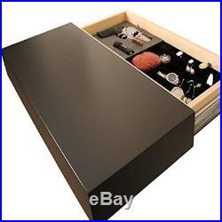 Hidden Handgun Pistol Home Cabinet Storage Floating Shelf Case FIREARM Concealed
