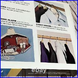 Hide-A-Safe Hanger Style Metal Storage Case For Hand GunsJewelryMoney
