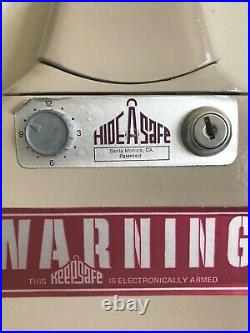 Hide-A-Safe Metal Storage Case For hand gun