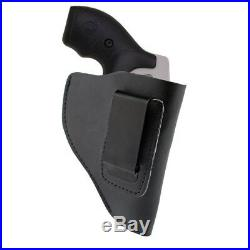 IWB Leather Holster Right Hand Gun Holder Case for 38 Special Revolver Ruger LCR