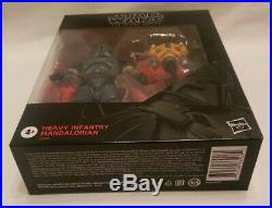 In Hand Star Wars Black Series Heavy Infantry Mandalorian Deluxe From Case MIB