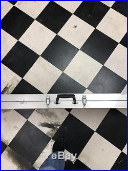 Kmp Long Gun Aluminum Locking Rifle Case 52x14x4.5