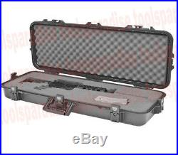LARGE 40 All Weather Gun RIFLE STORAGE Heavy Duty Carrying CASE