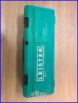 Leister 141.228 Triac ST Hand Held Plastic Hot Air Welder Heat Gun Tool with Case