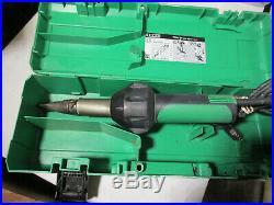 Leister Triac ST Hand Held Plastic Hot Air Welder heat Gun w case 141 228
