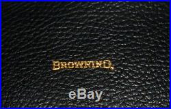Lot of 2 Vintage Original Browning Fleece Lined Pistol Gun Case 14 and 12