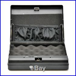 Mamba Vault Digital Electronic Handgun Safe (MV605D) Secure Handgun & Pistol Box