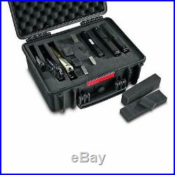 Multi Handgun Case Large Pistol Carrying Double Ammo Multiple Universal Hand Gun