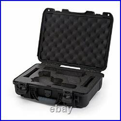 Nanuk 910 Waterproof TSA safe case DOUBLE Glock, 1911, SIG, Ruger, 2-UP Nanuk