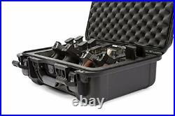 Nanuk 925 Waterproof TSA Safe case QUAD Glock, 1911, SIG, Ruger, 4-UP Graphite