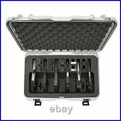 Nanuk 935 Waterproof TSA Safe case SIX Glock, 1911, SIG, Ruger, 6-UP SOCOM Black
