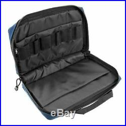 NcSTAR Black with Blue Discreet Padded Magazine Storage Pistol Hand Gun Case Bag
