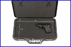 Negrini 3038R-TAC/5131 Handgun Deluxe Travel Tactica Case (4 Gun) Black/Black