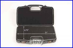 Negrini Cases 2018R-TAC/4835 Compact Tactical Handgun Travel Case Black/Black