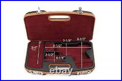 Negrini Dedicated Glock Style Handgun Luxury Travel Case 2028SLX/5512
