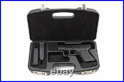 Negrini Dedicated Glock Style Handgun Luxury Travel Case 2028SR/5511