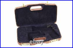 Negrini Italian Leather Model 1911 Handgun Deluxe Travel Case 2018SPL/4836