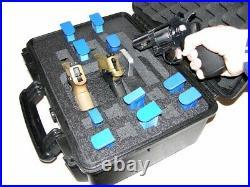 New 3 pistol Quickdraw handgun gun foam insert kit fits your Pelican 1450 case