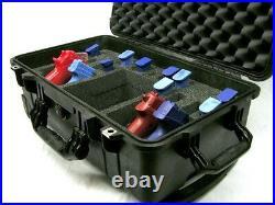 New 4 pistol handgun Quickdraw foam insert fits your Nanuk 935 case +nameplate