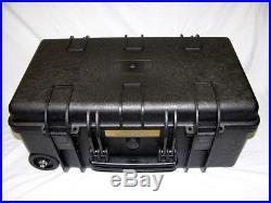 New Armourcase + 12 pistol handgun foam case 1500D equiv Pelican 1510 case