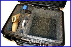 New Armourcase 1450 case includes Quickdraw 1 pistol handgun Range foam +Bonus