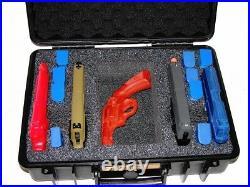 New Armourcase 1500 Heavy Duty Waterproof + precut 4 Pistol Gun case foam bonus