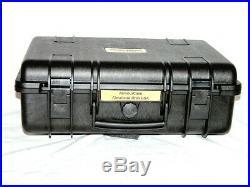 New Armourcase 1500 includes HD precut Quickdraw 4 Pistol Gun case foam
