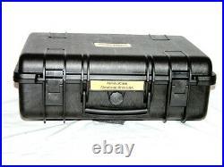 New Armourcase 1500 includes HD precut Quickdraw 4 Pistol Gun case foam + bonus