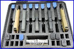 New Black ArmourCase 1550 case includes 9 long Pistol + 25 mags foam + Bonus