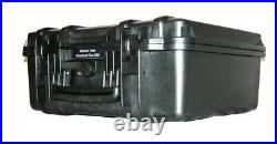 New Black ArmourCase Waterproof 1520 case fits 55 double pistol mags magazines