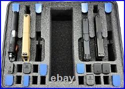 New Pelican 1550 range case includes precut 8 pistol + 26 mags military foam