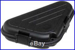 New Plano Shaped Pistol Case (Medium) Lock System Gun Storage Glock Ruger SR22