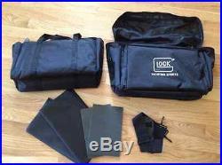New! Tactical Glock Bag 4 Pistol Handgun Range Heavy Duty Case Guns & Ammo