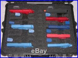 New precut 10 pistol handgun foam kit fits your Pelican Storm 2700 im2700 case