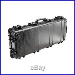 PELICAN 1700-000-110 1700 CASE With WHEELS 3 PC FOAM FITS 34 GUNS BLACK