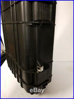 PELICAN 1720-000-110 1720 CASE With WHEELS 3 PC FOAM FITS 42 GUNS BLACK