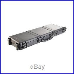 PELICAN 1750-020-110 1750 CASE With WHEELS 3 PC FOAM FITS 48 GUNS BLACK