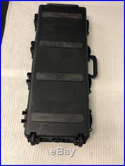 PELICAN Storm Case iM3100 Black withWheels Waterproof Container 39.75x15x7
