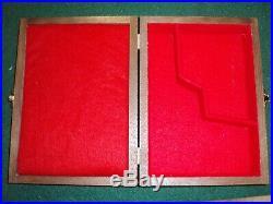 PISTOL GUN PRESENTATION CASE WOOD BOX FOR BROWNING 1922 JOHN 1910/22 FN Pistole