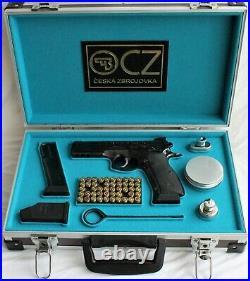 PISTOL GUN PRESENTATION CUSTOM CASE BOX for CZ 75 SP 01 SHADOW Ceska Zbrojovka