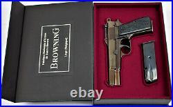 PISTOL GUN PRESENTATION CUSTOM DISPLAY CASE BOX for BROWNING HIGH POWER 1 Type