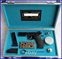 PISTOL GUN PRESENTATION CUSTOM DISPLAY CASE BOX for CZ 75 SP-01 SHADOW 9 x 19 mm