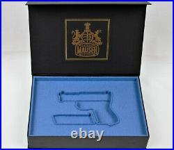 PISTOL GUN PRESENTATION CUSTOM DISPLAY CASE BOX for MAUSER m1910 / 34 6,35 mm