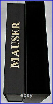 PISTOL GUN PRESENTATION CUSTOM DISPLAY CASE BOX for MAUSER m1910 cal. 6,35 mm