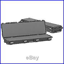 PLANO TACTICAL Gun Case, Double, 56in, 18 in. W, Black, 109540, Black