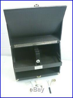 Pachmayr Gun Box Works 5 Pistol Super Deluxe Gun Range Box Case