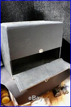 Pachmayr Gun Works Super Deluxe Case-4 Pistol Range Box-Adjustable Lok-Grip Tray