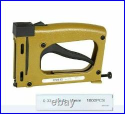 Patch Nail Gun Manual Tools Lightweight Flexible Backplane Fixed Hand Tacker New