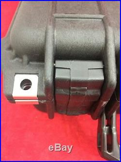 Pelican 1400 Waterproof Hard Case Black WithO Foam 13.5x12x5.5 Excellent Cond