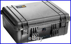 Pelican 1550 case +precut foam fits 11 semi auto pistols +22 mags +1500D + bonus